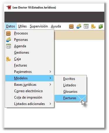 modelos de facturas régimen de factura electrónica soporte